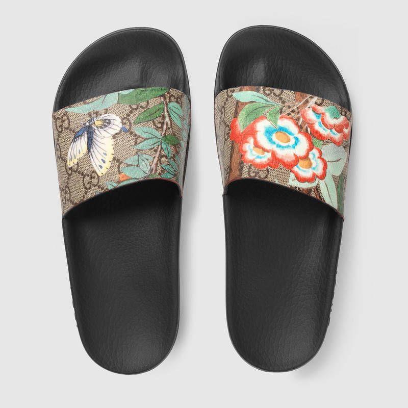 e7bb11ce24d5e Women s Gucci Tian slide sandal