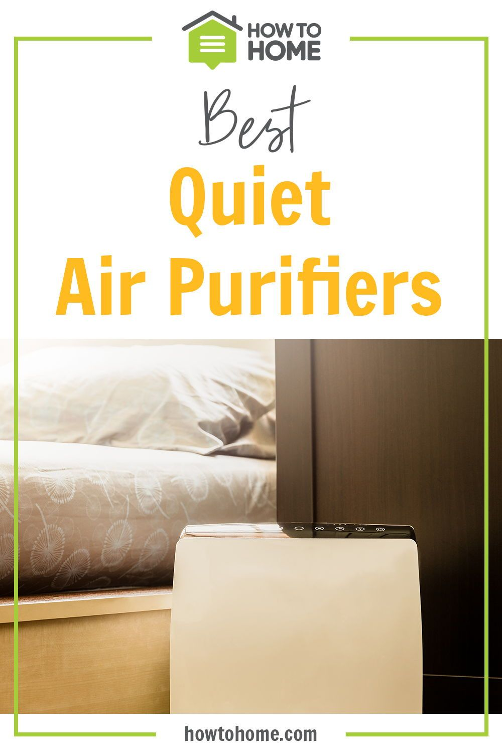Quiet air purifiers are ideal for minimizing noise