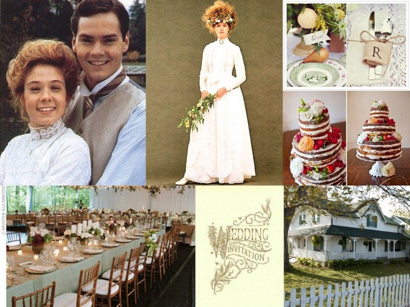 Books Movies Anne Of Green Gables Wedding Inspiration Special