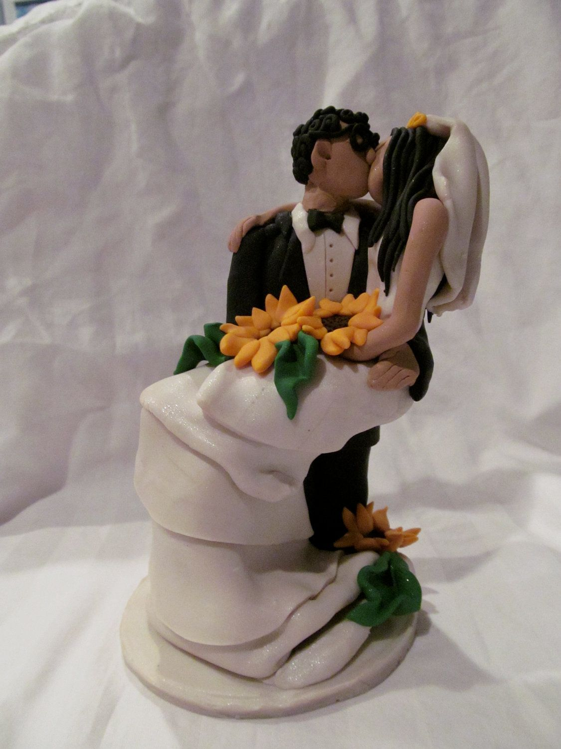 I have a sunflower issue...Sunflower Wedding Cake Topper
