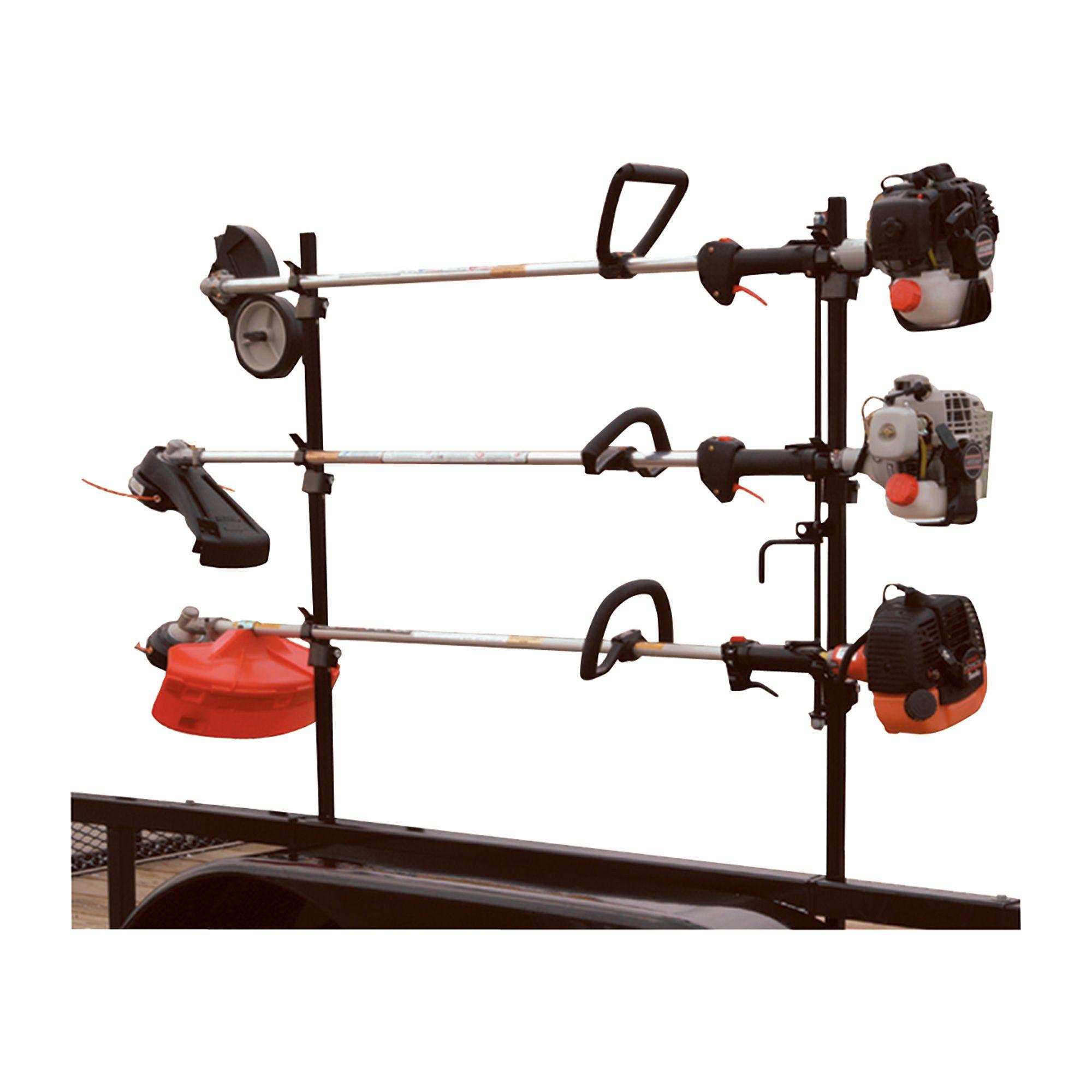 Buyers Lockable Trimmer Rack for Open Trailers Model LT10