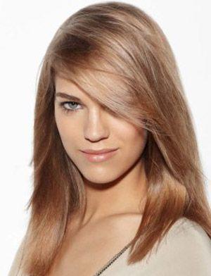 Fryzura Dla Gęstych Włosów średnie Włosy Do Ramion Włosy
