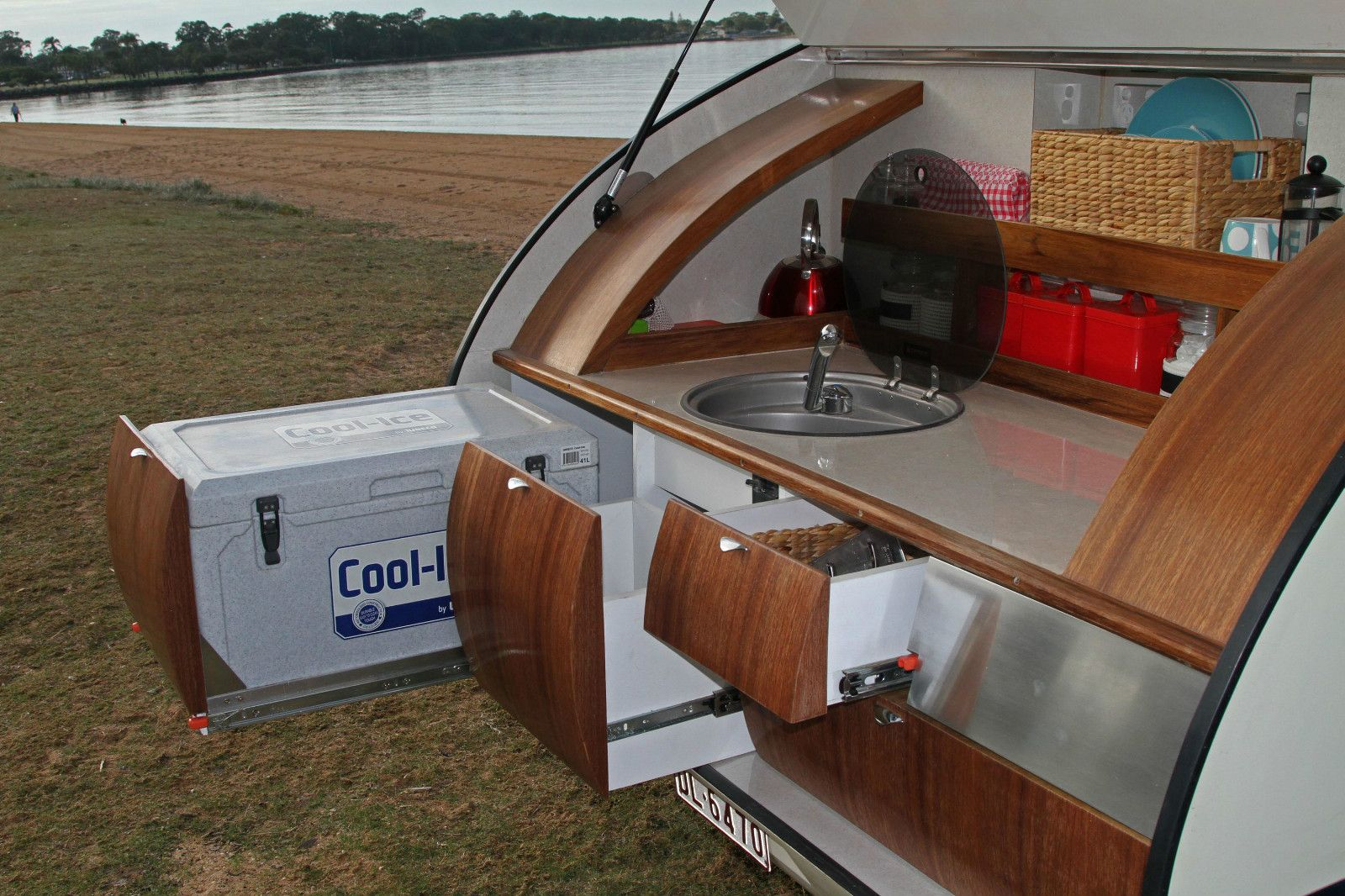 Camper Trailer Kitchen Gidget Retro Teardrop Camper Trailer Kitchen 2 Teardrop Campers