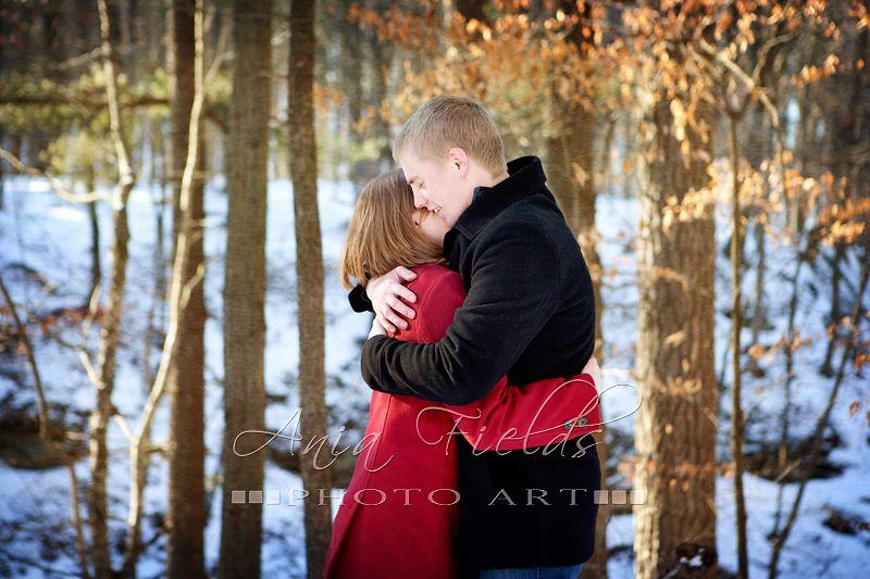 Winter Family Portraits   Renee and Darin – Winter Engagement Photos, Prairie du Sac WI ...