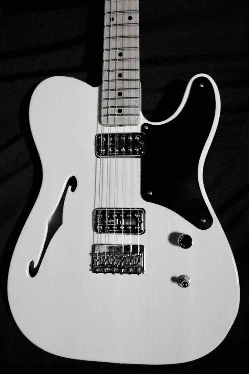 Fender, Custom Shop Master-Built John Cruz La Cabronita Thinline Telecaster, 2013 - Jeff Kollman | Tune Your Sound #fenderguitars