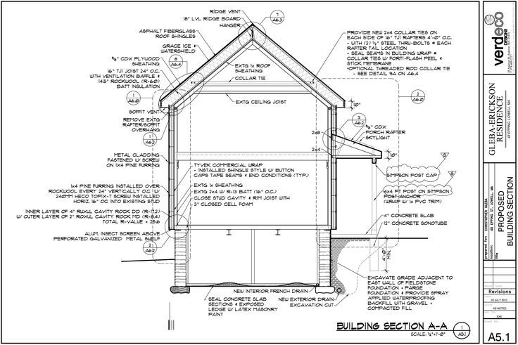 Image Result For Insulation Section Drawing Floor Plans