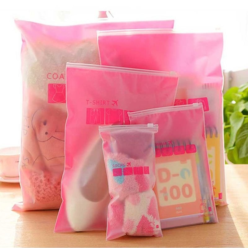 Transpa Waterproof Clothes Socks Underwear Bra Shoes Storage Bag Travel Wash Protect Cosmetics 8pcs