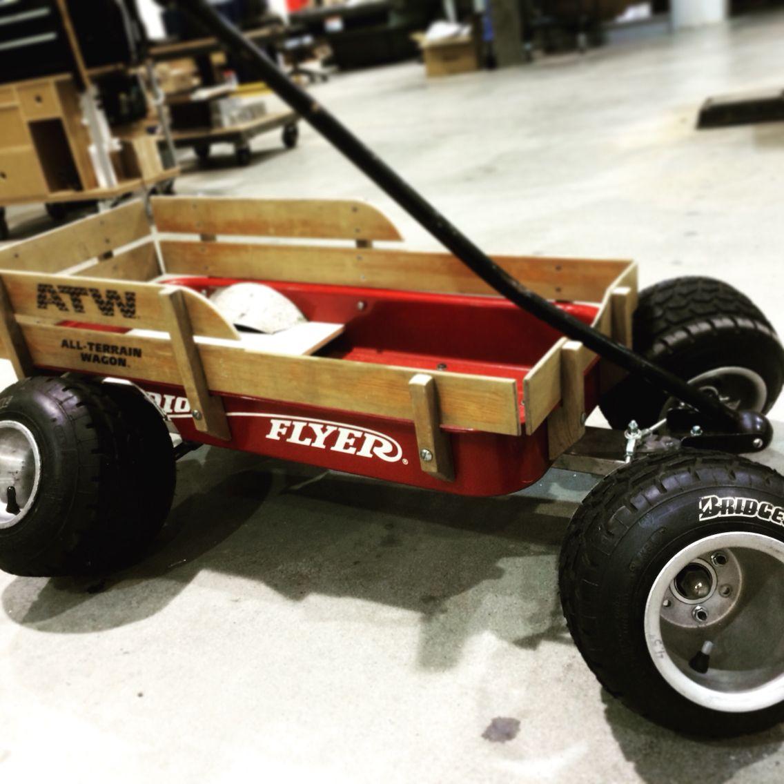 Slammed wagon, stanced radio flyer smoozy Toy car