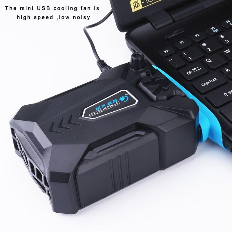 Portable Speed Adjustable Laptop Cooling Fan Laptop Cooler