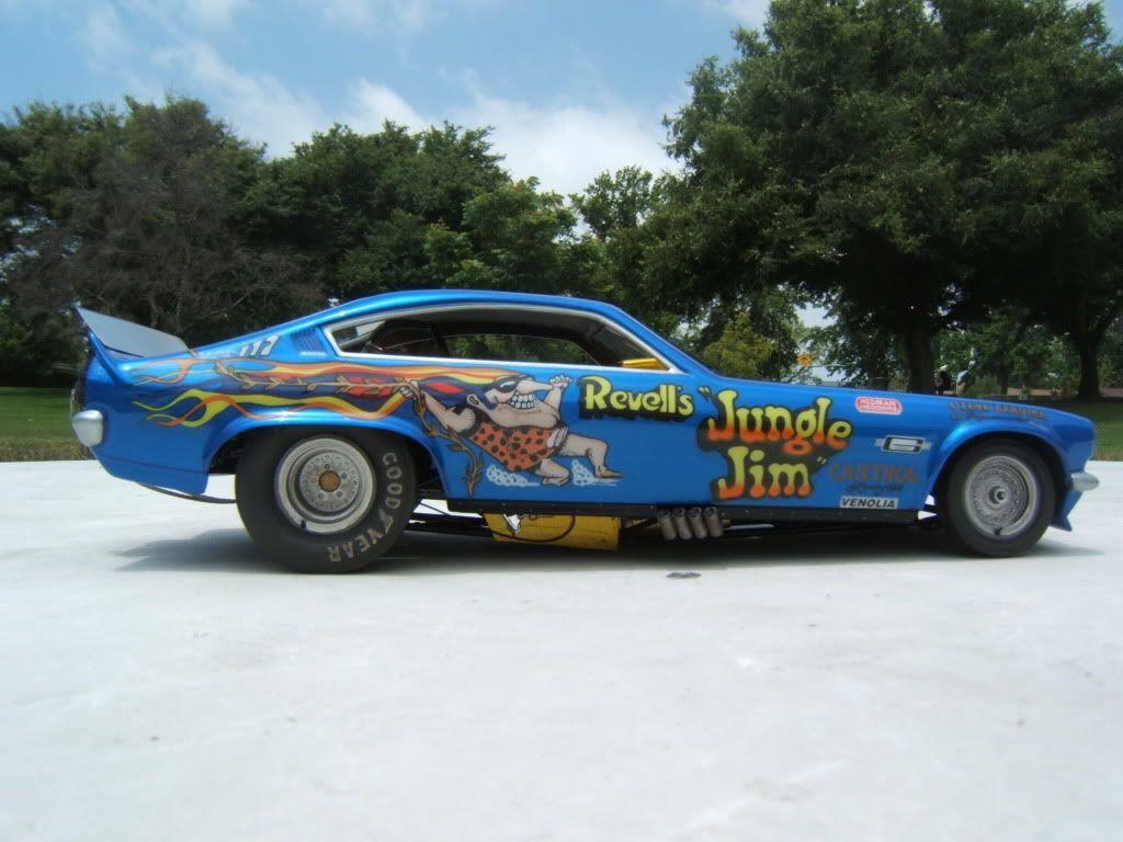 Revell S Jungle Jim Vega Plastic Model Jungle Jim Tribute Drag Racing Models Model Cars Magazine For Jungle Jim S Funny Car Drag Racing Drag Racing Cars