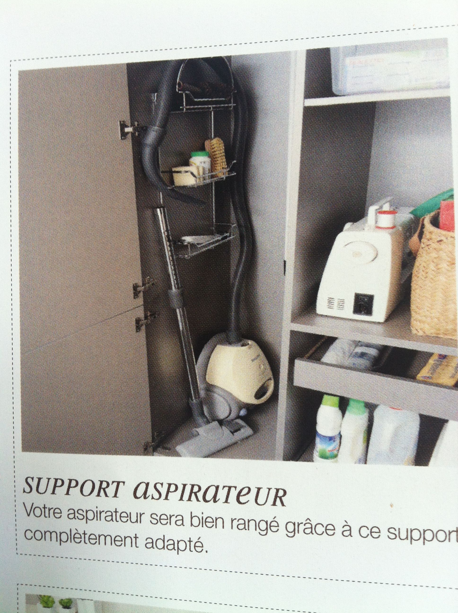 rangement aspirateur placard pinterest rangement aspirateur aspirateurs et rangement. Black Bedroom Furniture Sets. Home Design Ideas