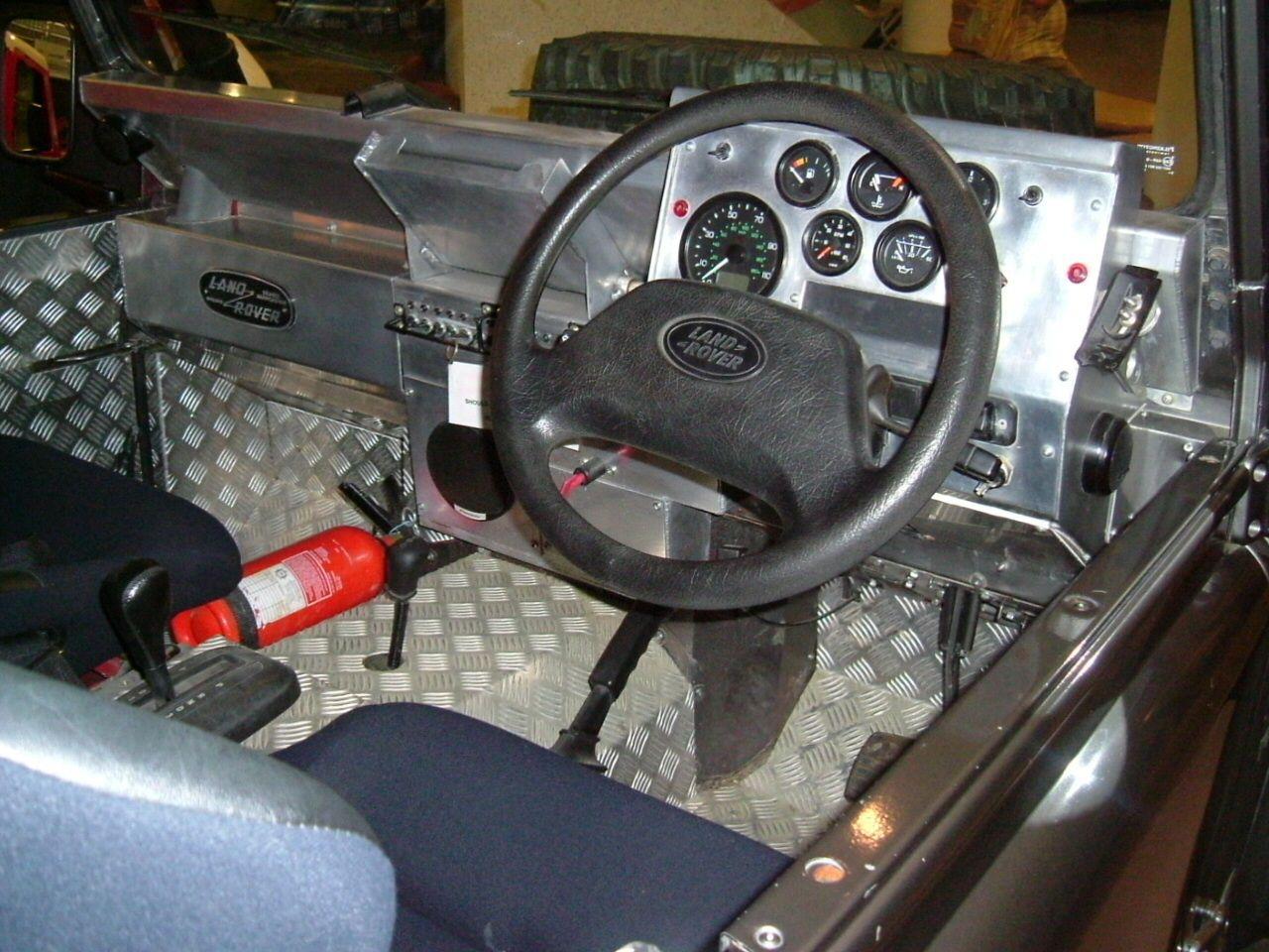 defender custom rover dashboard jet landrover black car land