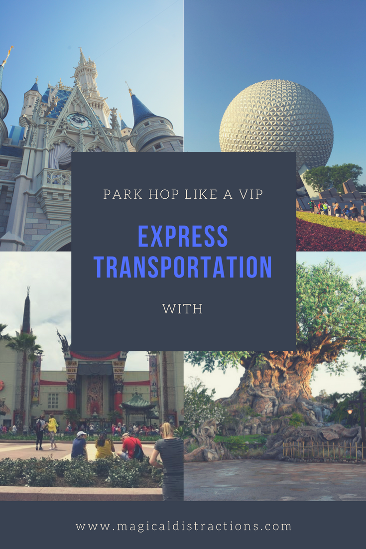 The benefits to using Disney Express Transportation in Walt Disney World.