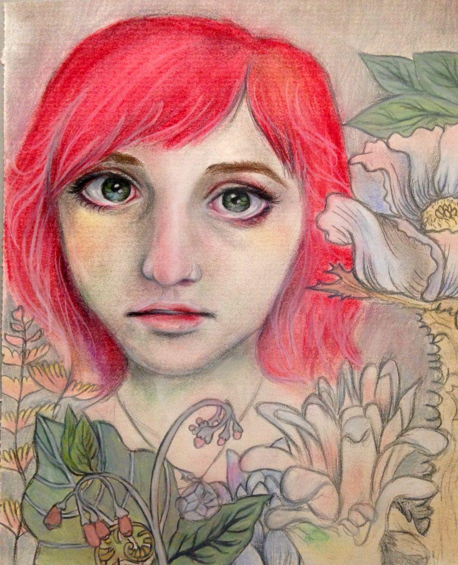 2015 Pinspiration Portraits Lesson By Debi West Nghs Room 406 Student Art Art Portrait