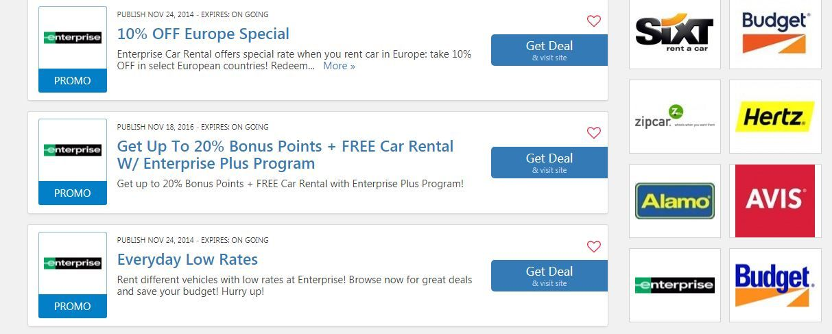 Enterprise Car Rental Coupon Codes 25 Off Enterprise Car Rental Enterprise Car Rental Coupons Car Rental