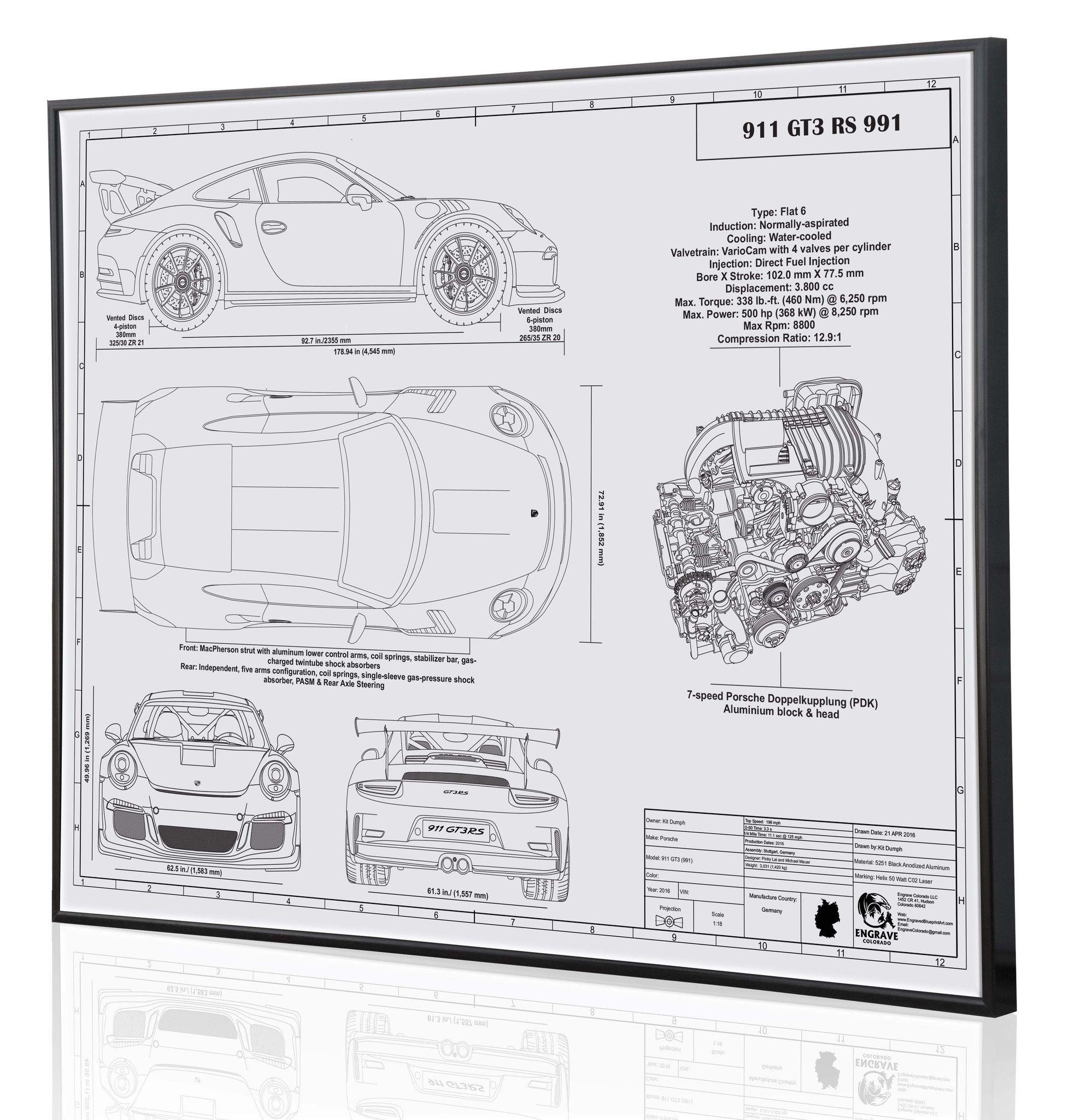 Porsche 991 Engine Diagram