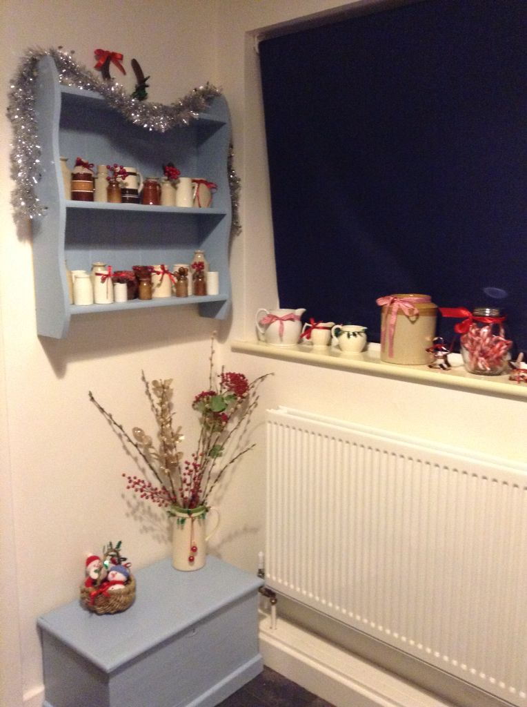 Kitchen at Christmas