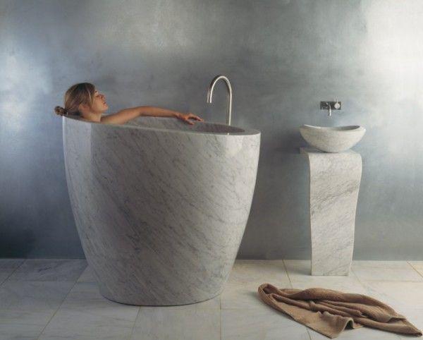 vasca da bagno pietra | vasca da bagno | Pinterest | Lofts, Villas ...
