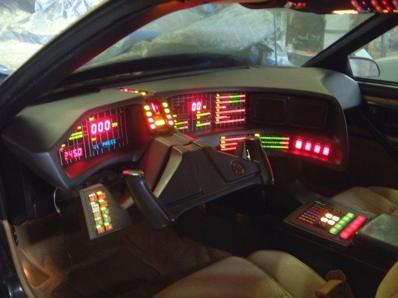 Knight Rider Replica Parts 82 92 Firebirds 2 Tv Dash Knight Rider Rider Pontiac Firebird