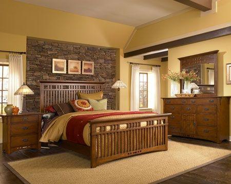 Artisan Ridge Bedroom Sku 9904422 Mission Style Bedroom