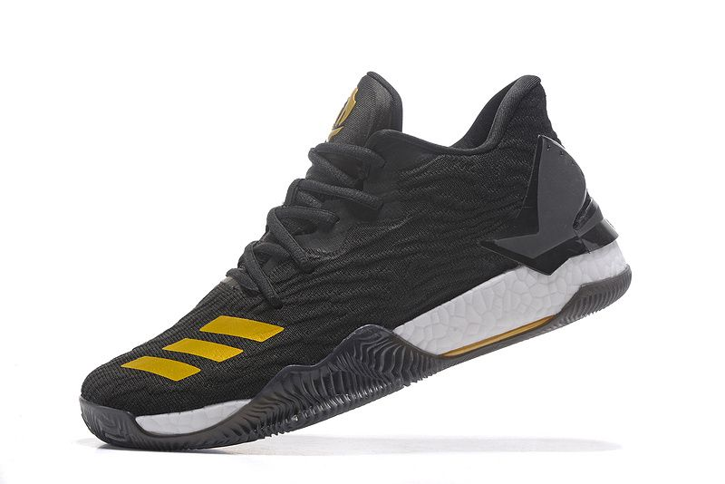 """outlet store 45549 f3407 Adidas D Rose 7 Low""""Black Gold """"Sneakers for Online Sale 01 03"""