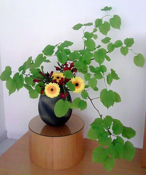 Types Of Flower Arrangement Shapes: 映. Non-traditional Shapes In Traditional Placements
