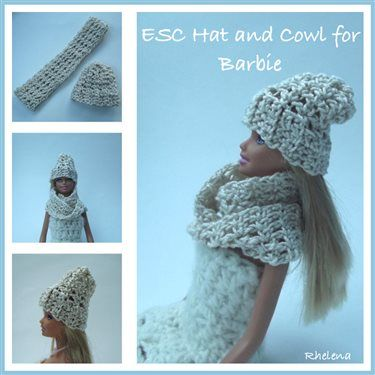 ESC Hat and Cowl for Barbie - Media - Crochet Me