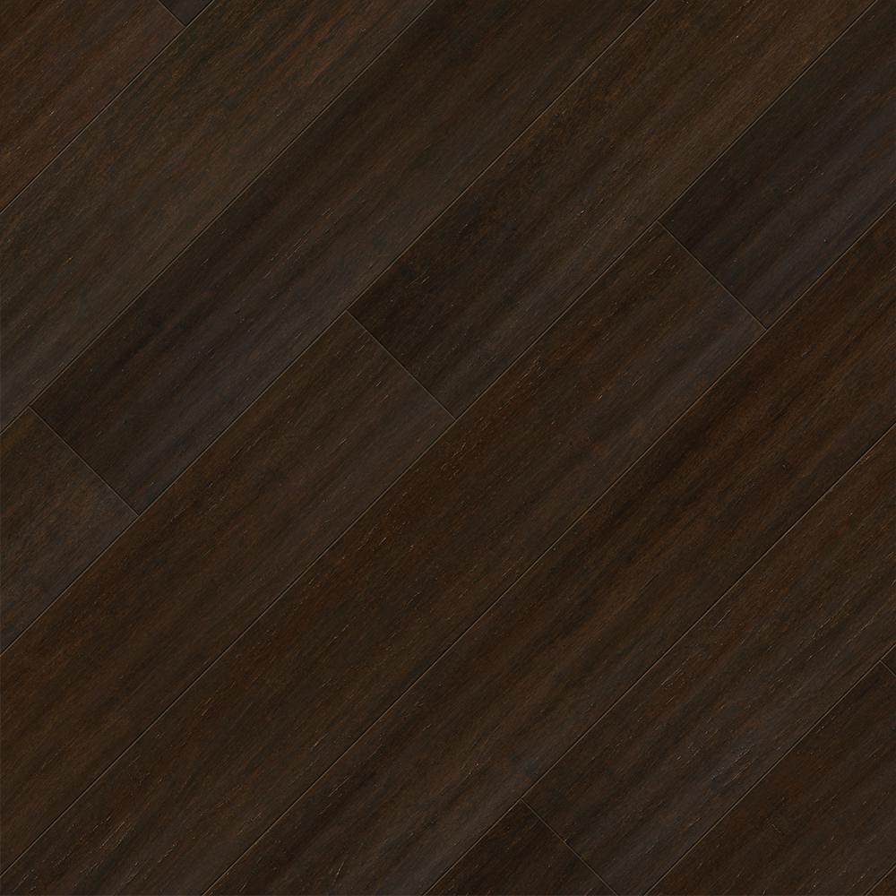Home Legend Take Home Sample Strand Woven Barrington Click Lock Spc Wr Bamboo Flooring 5 In X 7 In Dark Brown Flooring Engineered Bamboo Flooring Prefinished Hardwood