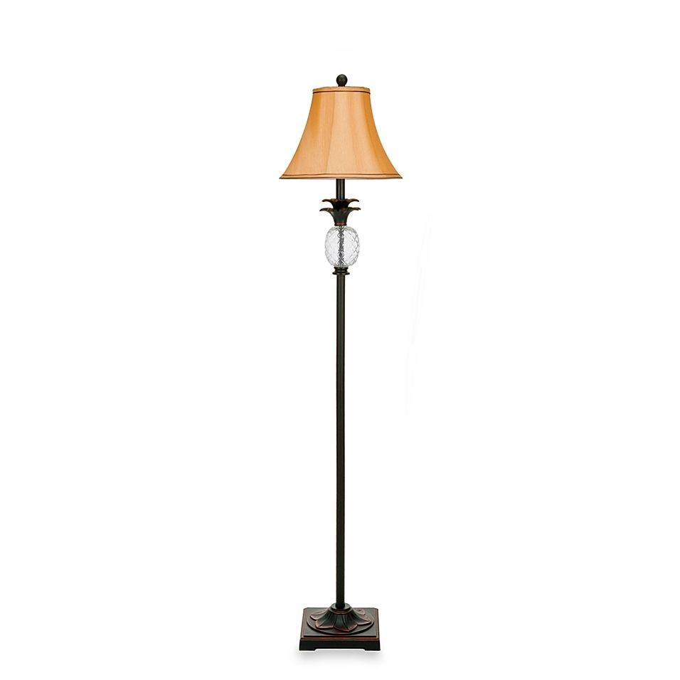 Alyssa Tall Pineapple Floor Lamp Floor Lamp Lamp Bed Bath And