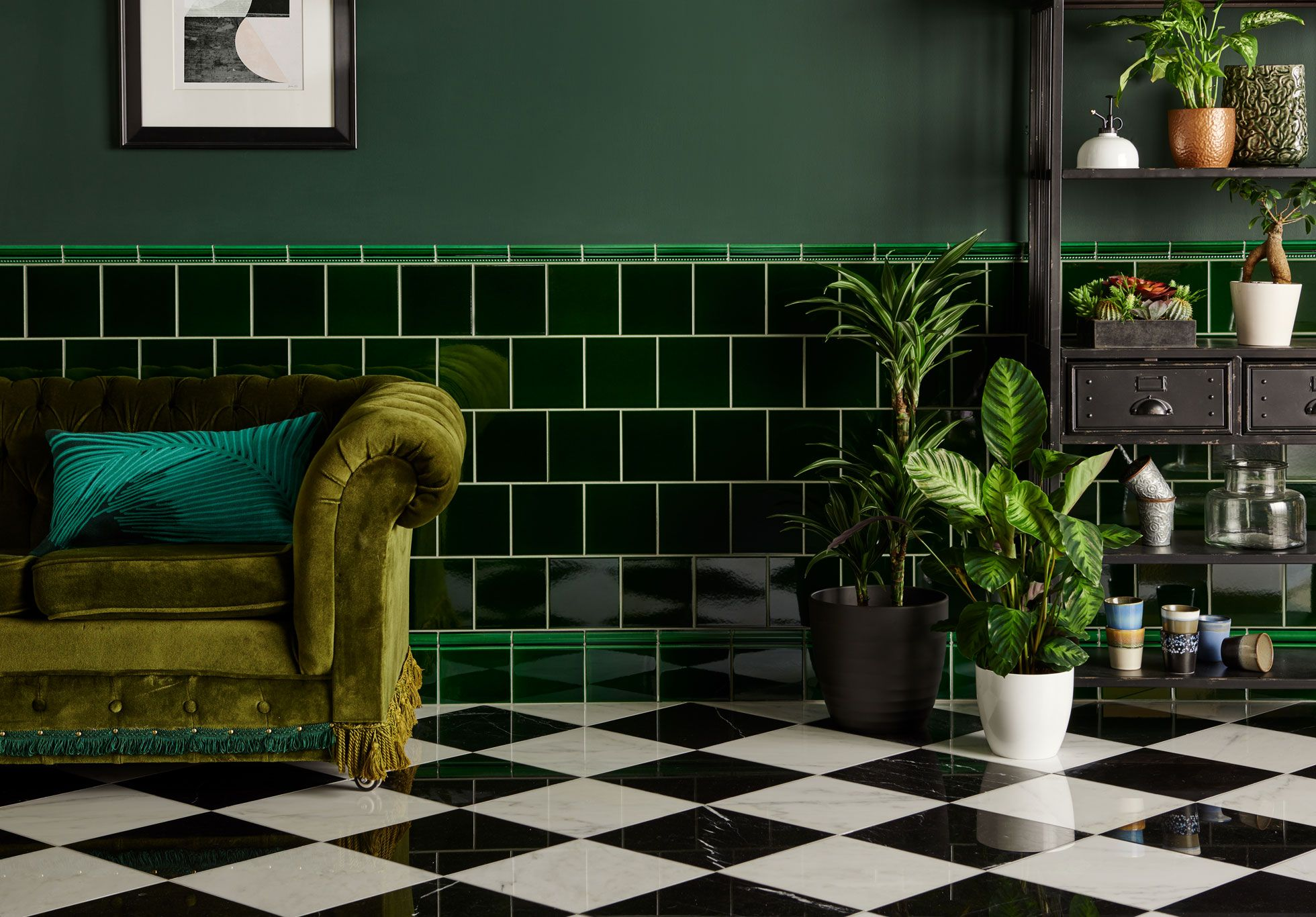 Image Result For Pub Green Victorian Tiles Green Tile Bathroom Green Bathroom Green Tile