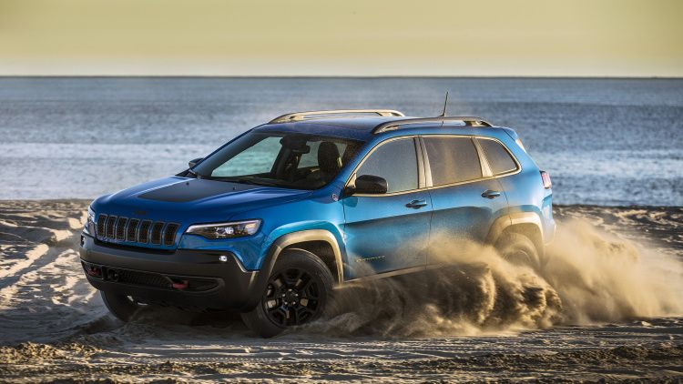 2019 jeep cherokee trailhawk first drive photo gallery