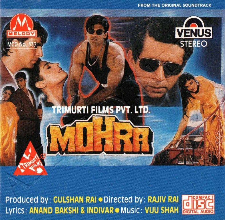 Mohra 1994 Mp3 Vbr 320kbps With Images Bollywood Movie Songs Bollywood Songs Movie Songs