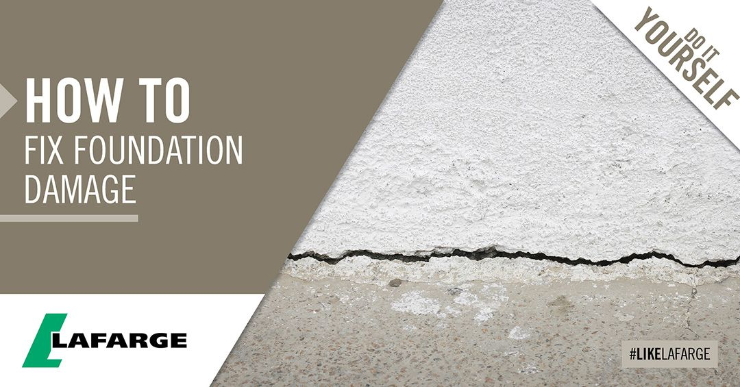 How To Fix Foundation Damage On Your Home Foundation Fix It Damaged
