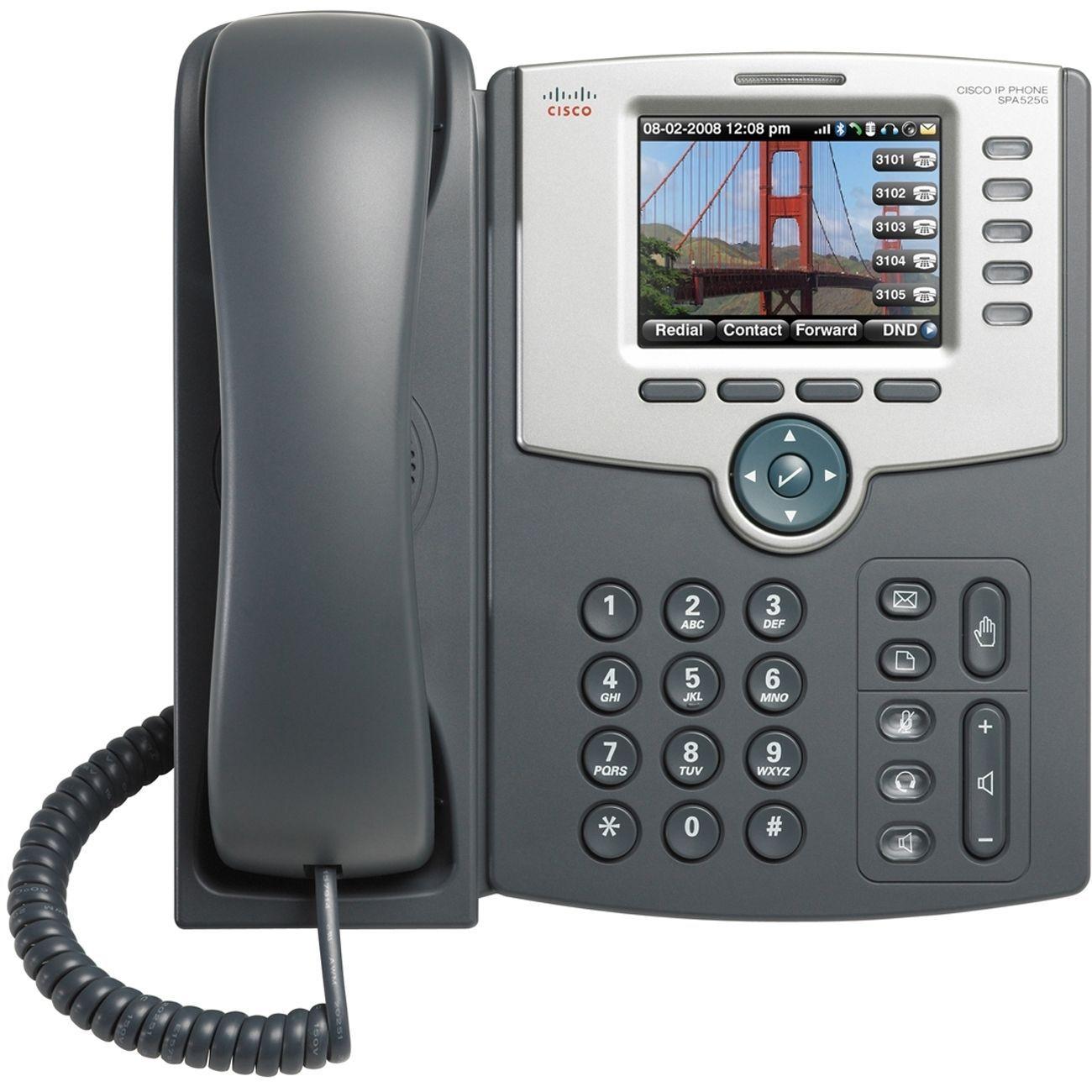 Cisco SPA525G2 IP Phone - Wireless - Wi-Fi