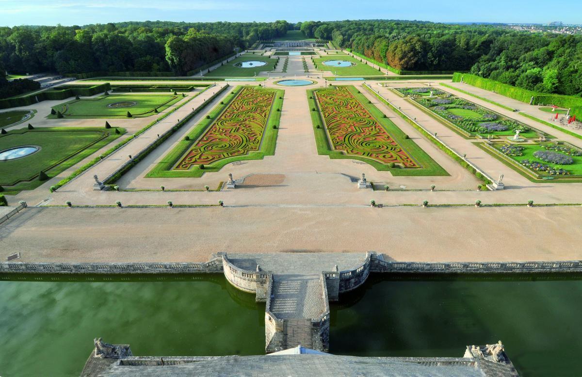 Le Jardin A La Francaise Architecte Paysagiste Plans De