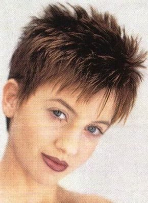 Short Spikey Hairstyles Fascinating Short Spikey Hairstyles For Women Over 40  Hair  Pinterest  Pixie