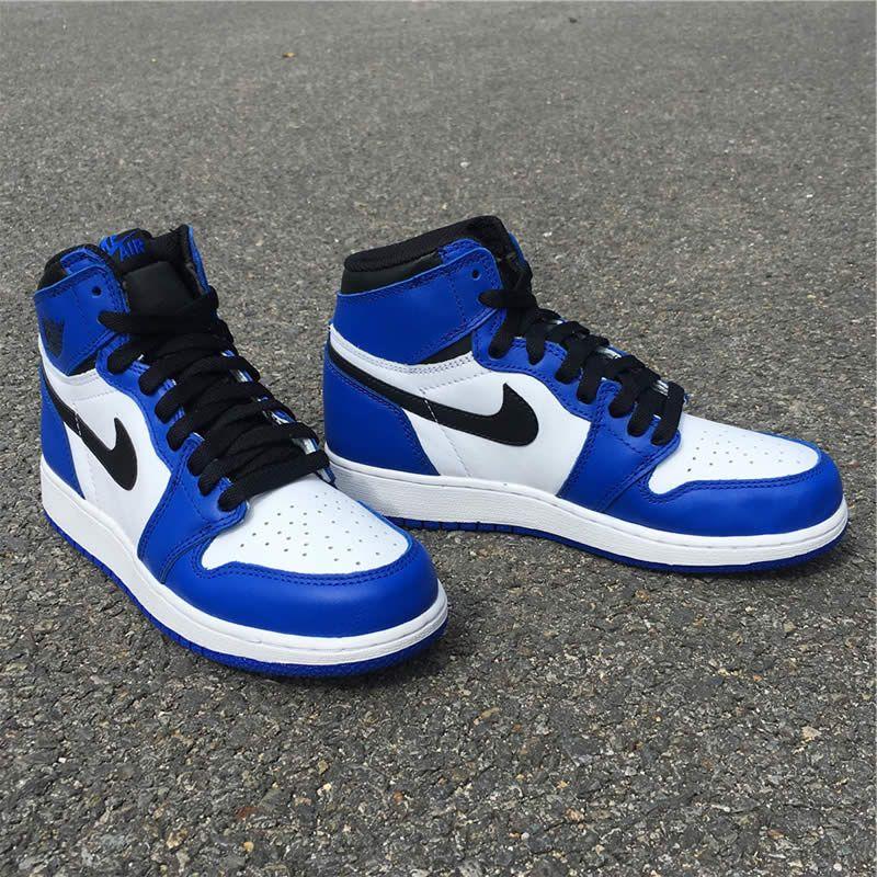 air jordan 1 retro og game royal blue womens gs shoes 575441 403 detail  images ( 03f9f7dccb