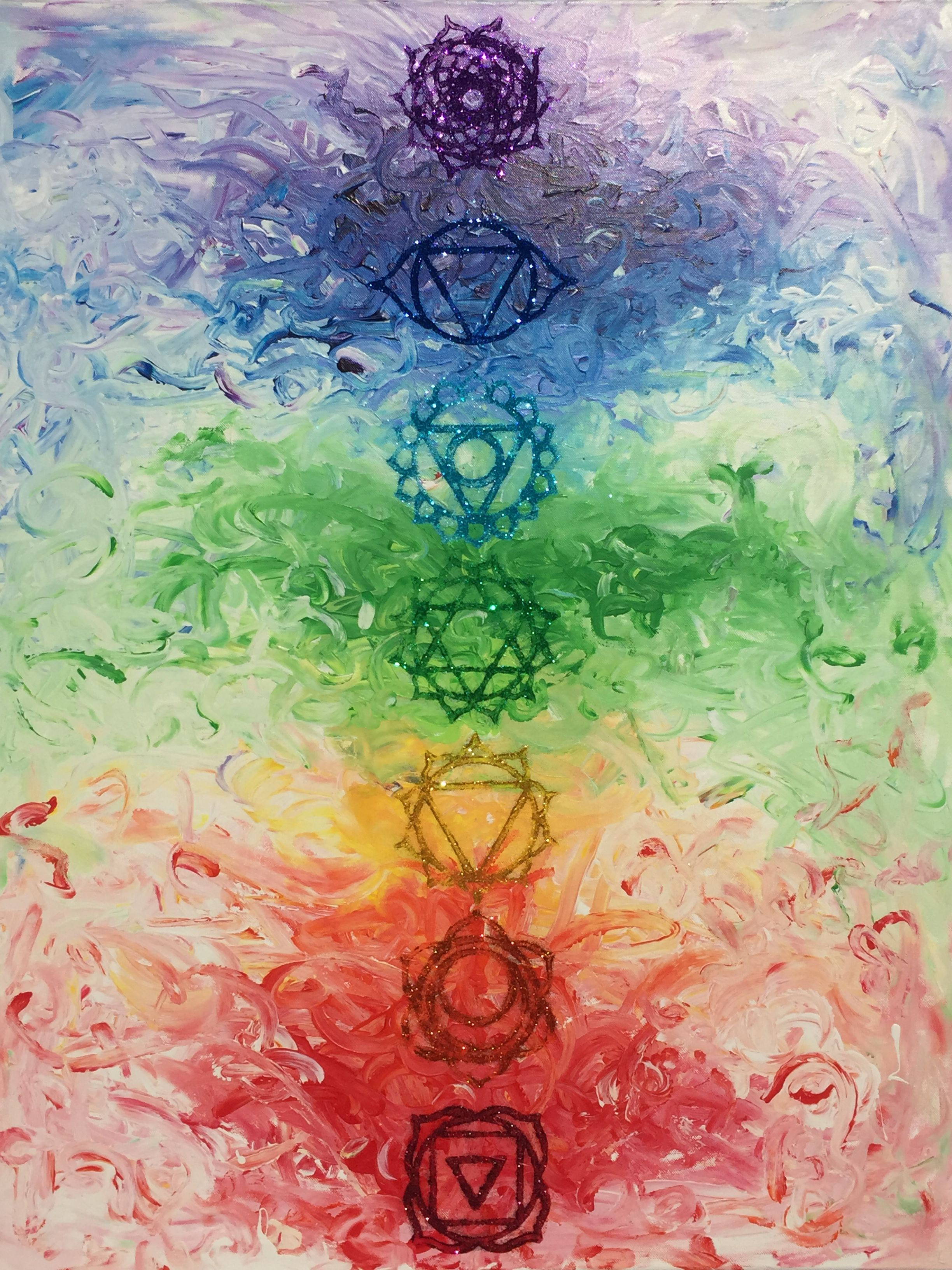'My Son's Chakras' by Lynnette Roberts Fotos de cantores