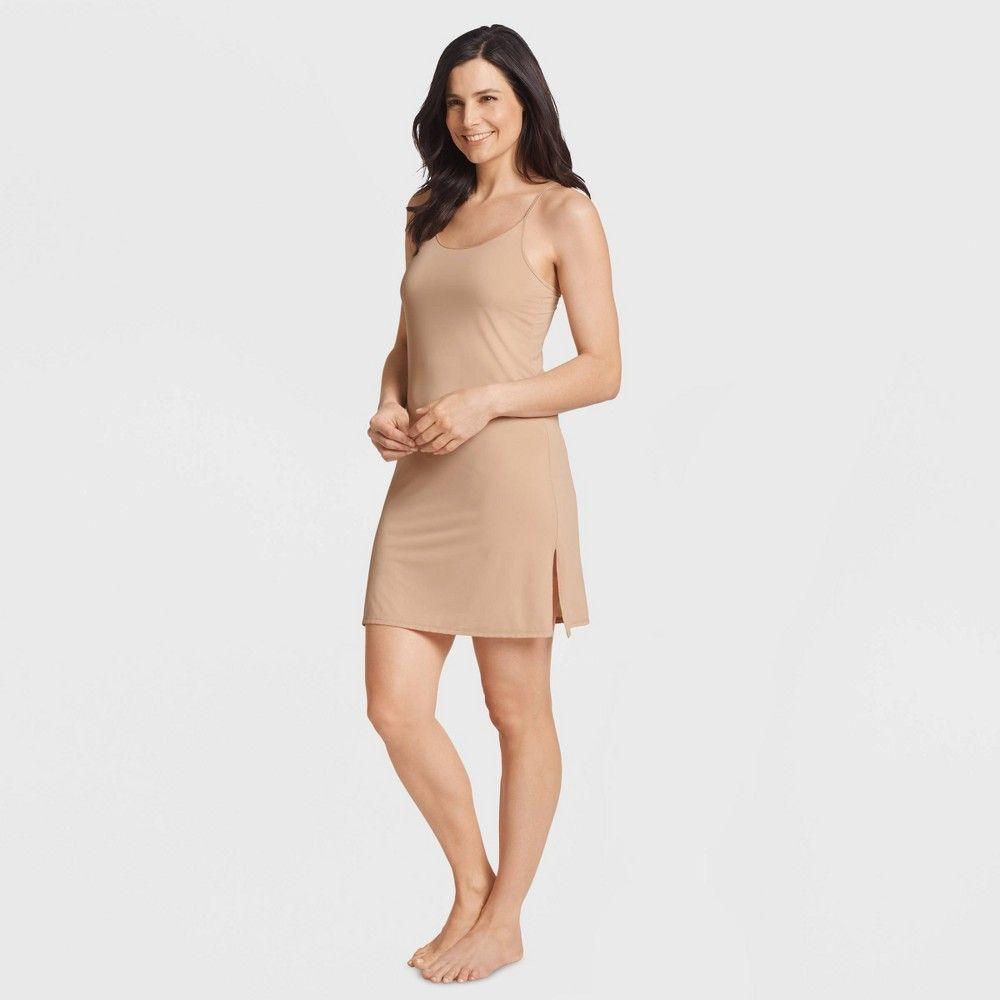 Jockey Generation Women S Full Slips S Beige In 2020 Women Wrap Around Dress Favorite Dress