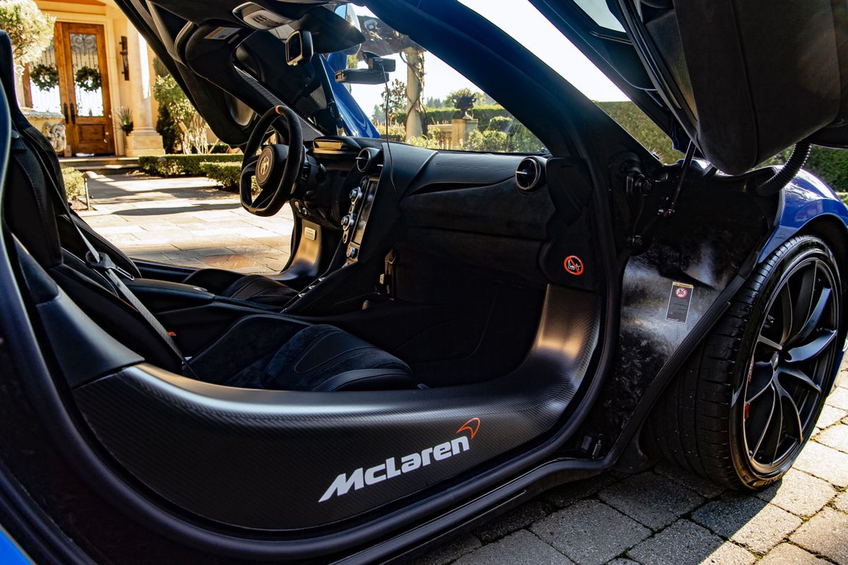 Mclaren 720s Mso Dry Carbon Door Sills Mclaren Mclaren720s 720s Mclaren570s Golf Bags Mclaren 570s Mclaren
