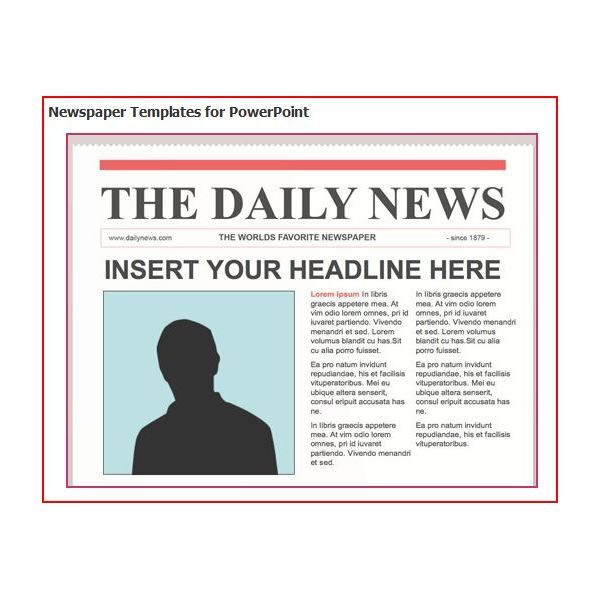 Newspaper Layout Design Templates  Google Search  For The