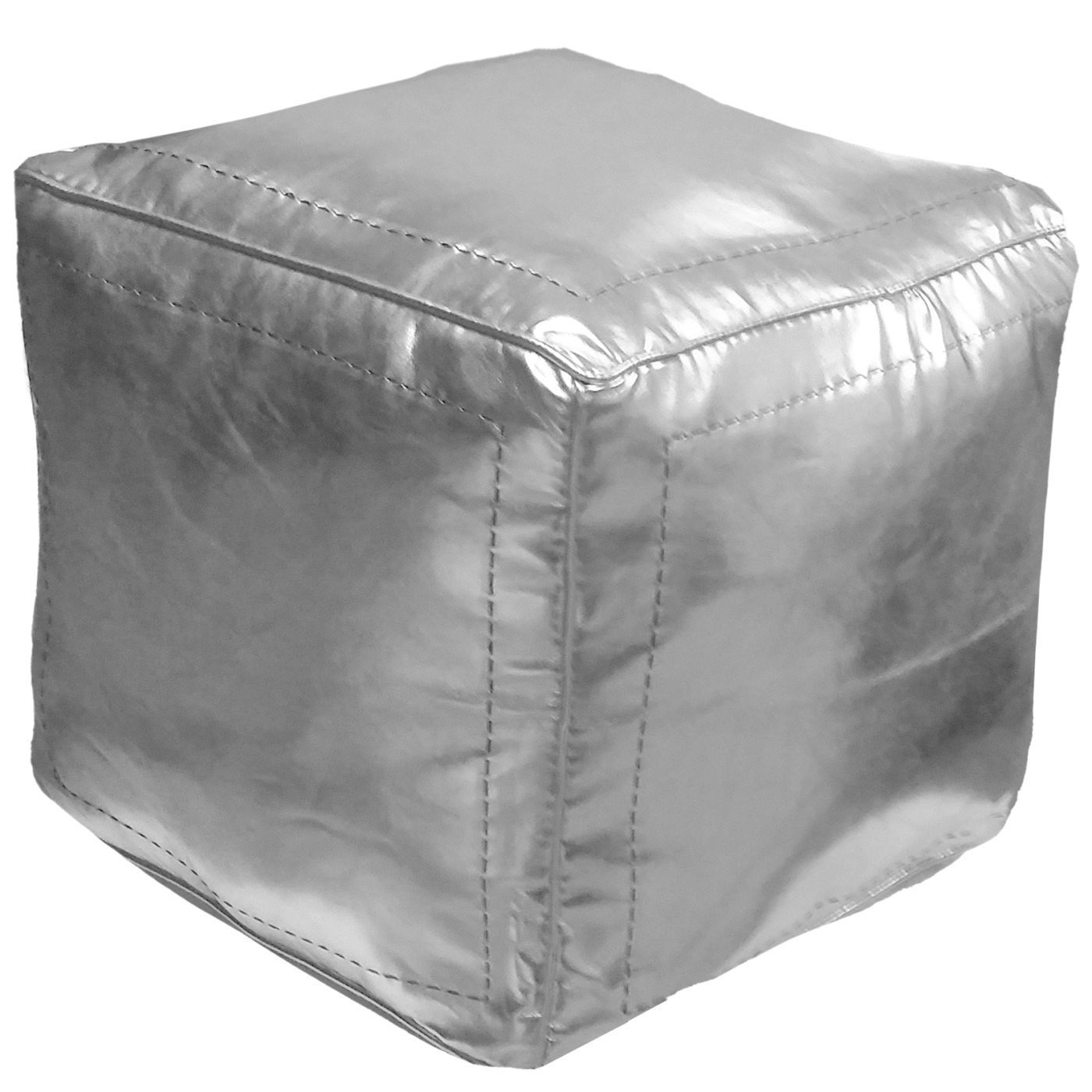 Moroccan Leather Pouf Design Sit Down Pinterest Leather Square Moroccan Leather Poufs Silver Square Eco Leather Size 16