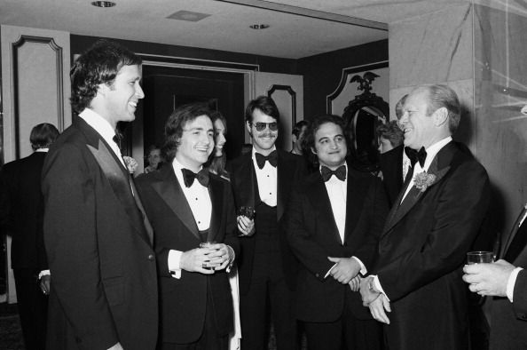Live Radio Tv Correspondents Dinner Pictured Chevy Chase
