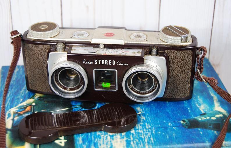1950 S Kodak Stereo Camera Vintage Kodak Camera Vintage Photography Vintage Kodak Camera Stereo Camera Vintage Cameras