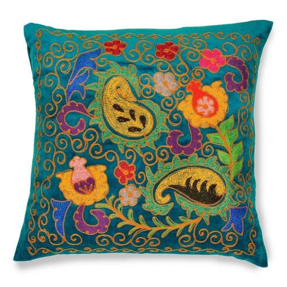 Lapis lazuli house - Amazon Com Lapis Lazuli 19 Suzani Patduzi Pillow Cover Throw