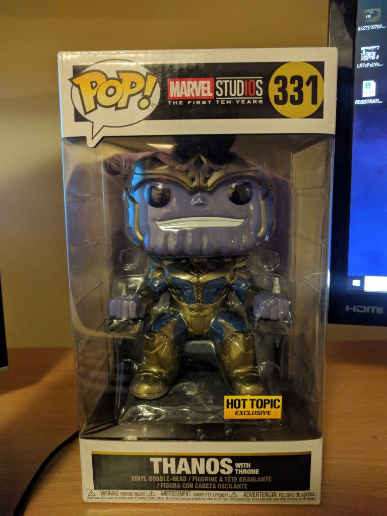 Funko Pop Haul - SNL, Six Armed Spider-Man, Thanos in Chair (Hot ...