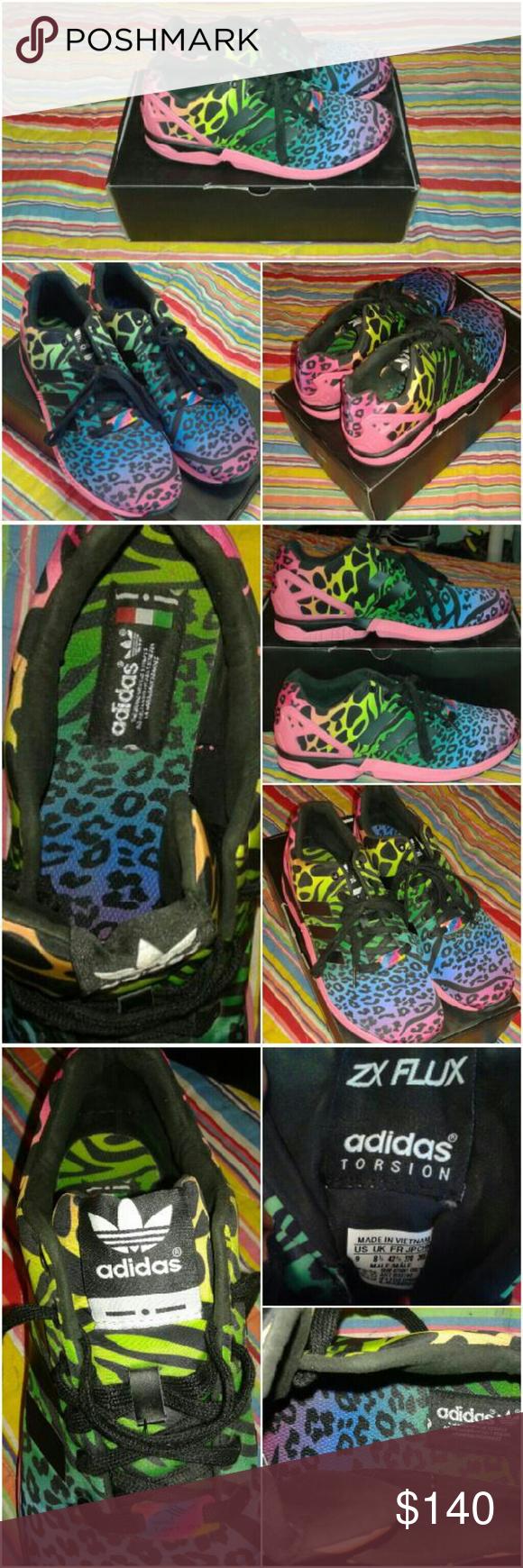 dcdaf5df509d4 ... b32740 unisex shoes 3b3da 68396  ebay adidas x italia independent  rainbow safari zx flux very rare i call these my lisa