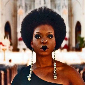 Afro Gothic Bridal idea - CHRCH cover art