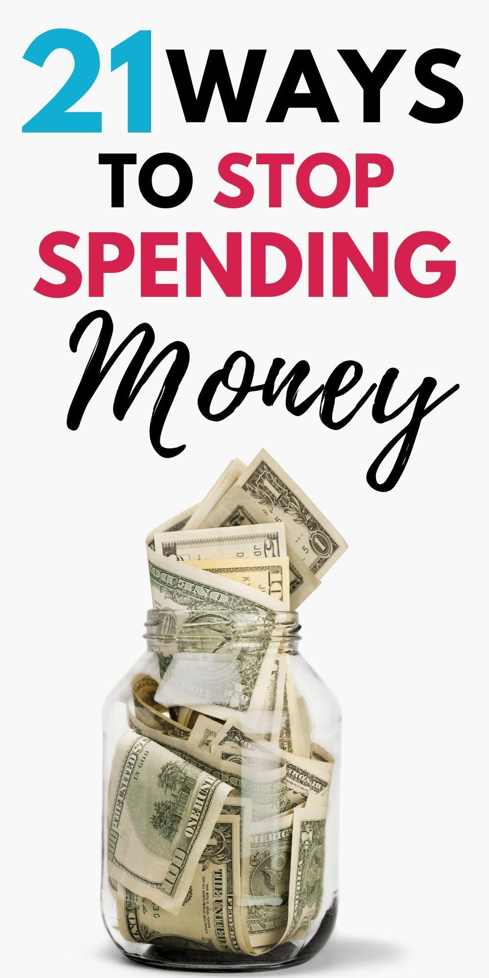 How to Stop Spending Money: 21 Tips to Quit Spending ...