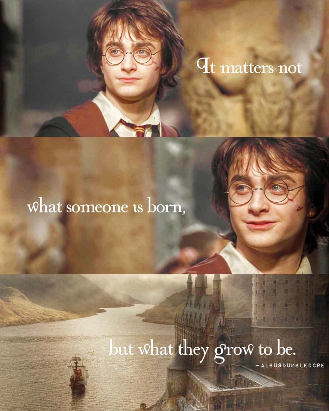 it does matter though because it effects who you grow up to be